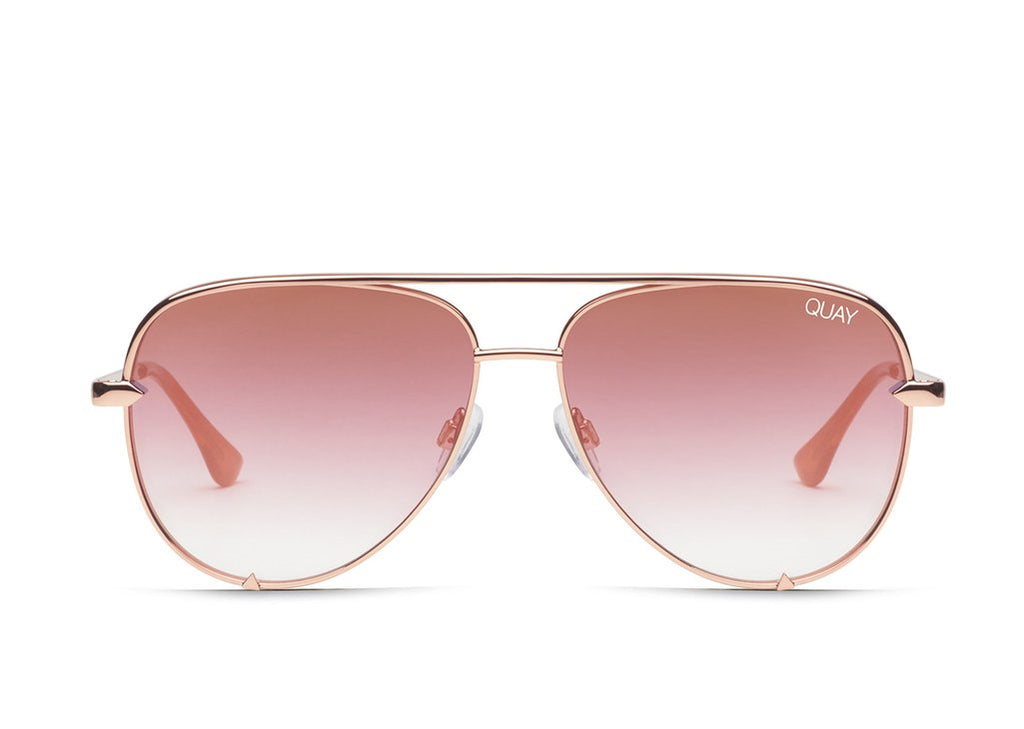 Quay Australia High Key in Rose/Copper Fade