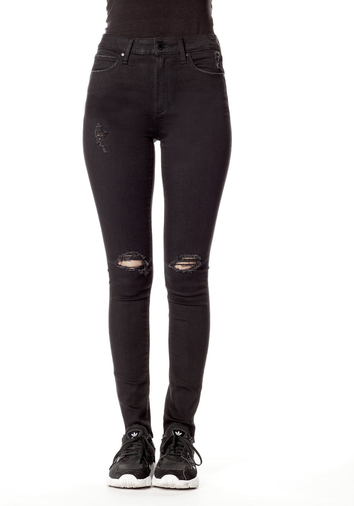 Articles of Society Hilary Hi Rise Jeans in Hood Wash