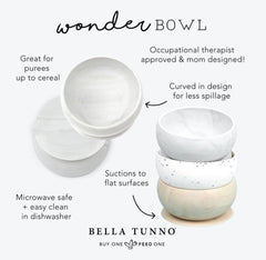 Bella Tunno Speckle Suction Bowl