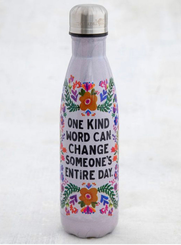 Natural Life Water Bottle-One Kind Word