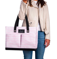 "Scout Bags ""Wavy Love"" Uptown Girl Pocket Tote Bag"