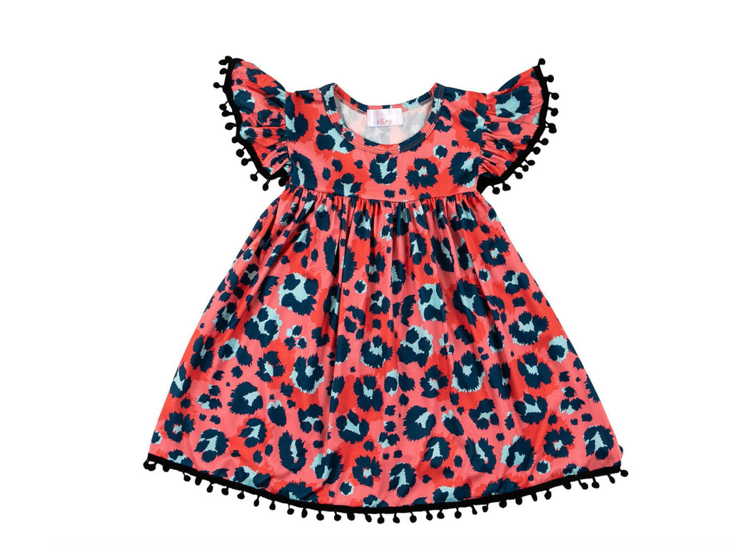 Mila & Rose Spot On Pom Pom Dress