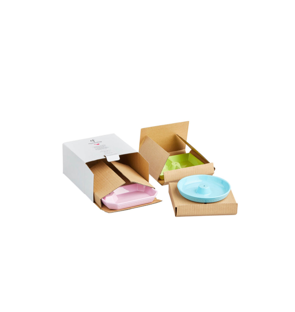 MEL07 Nora Fleming Melamine Dainty Dish Set of 3