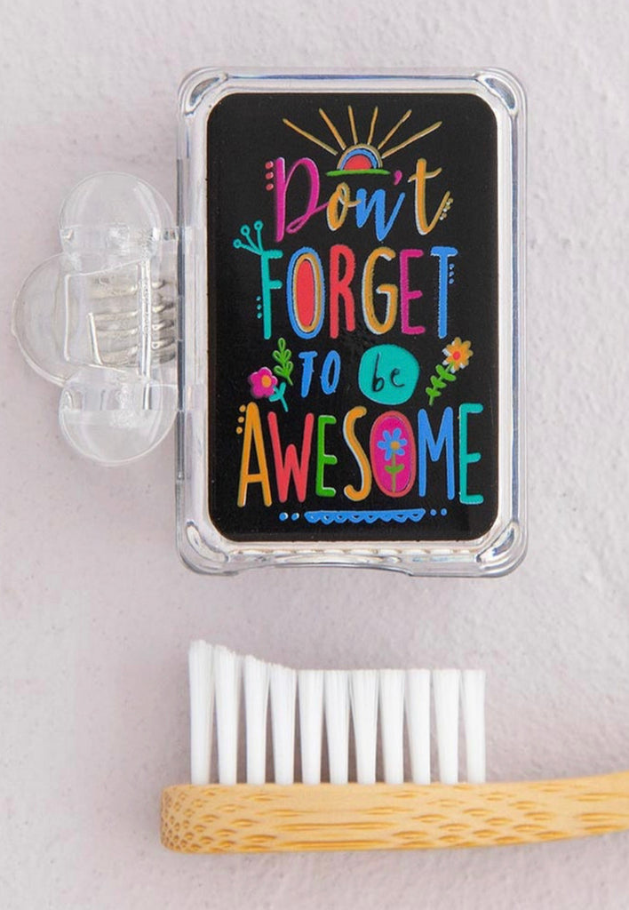 Natural Life Toothbrush Cover -Be Awesome
