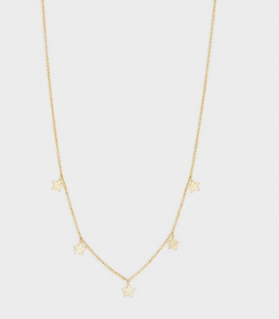 Gorjana Super Star Flutter Necklace