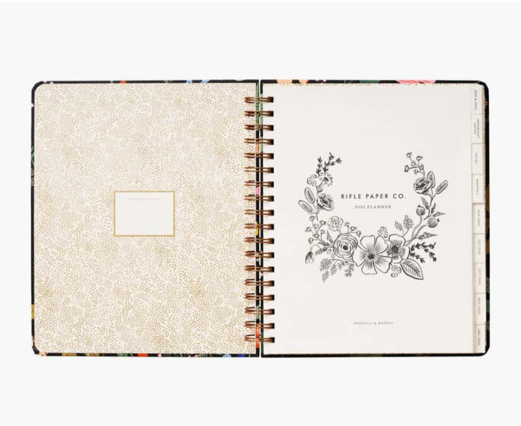 Rifle Paper Co. 2021 Strawberry Fields Spiral Planner
