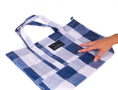 "Scout Bags ""Navy Check"" Toteworthy Shoulder Bag"