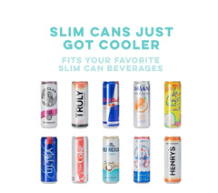 Swig 12 oz. Skinny Can Cooler in Rose Gold