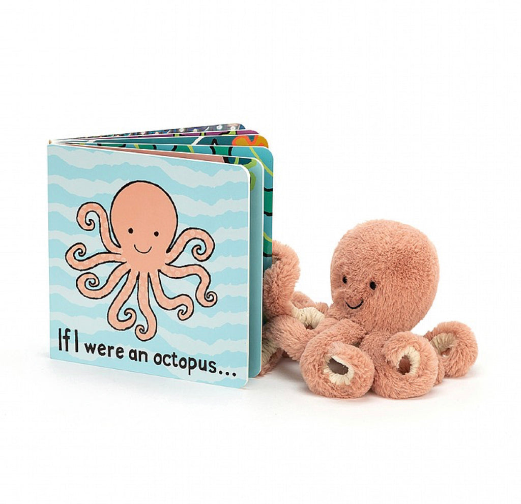 Jellycat If I Were a Octopus Board Book