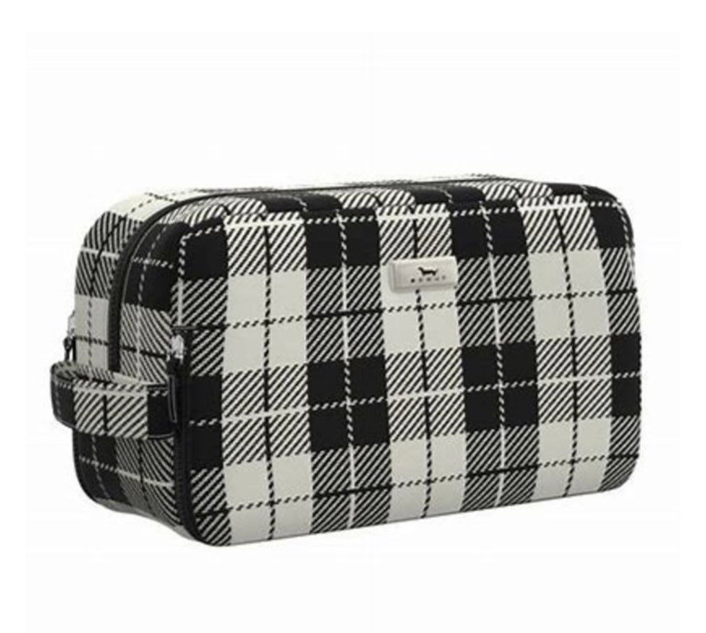 "Scout Bags ""Plaid Habit"" Glamazon Makeup Bag"