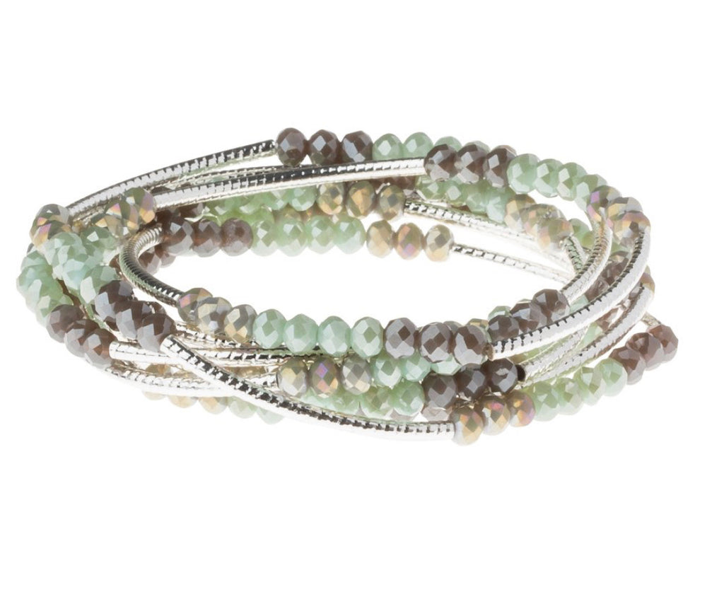 Scout Curated Wrap Iced Mint Combo/Silver