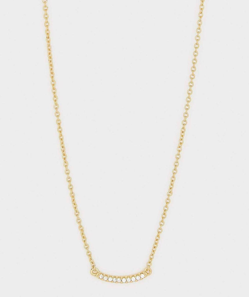 Gorjana Shimmer Mini Necklace Gold