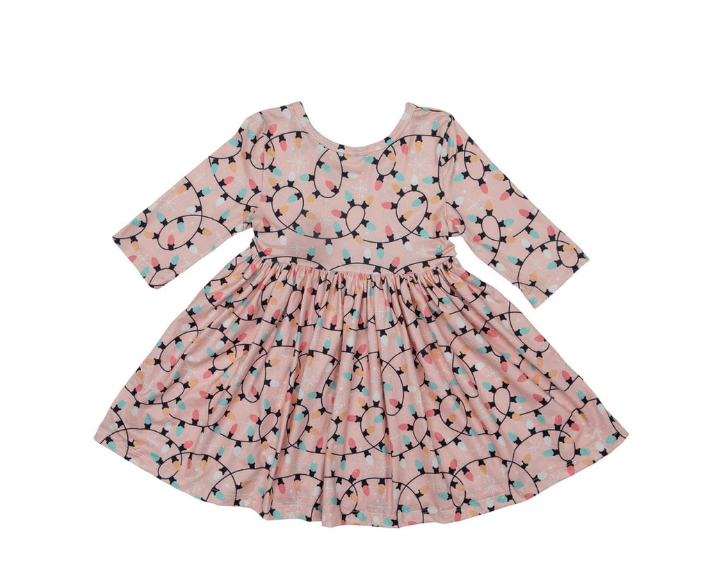 Mila & Rose Winter Nights Twirl Dress