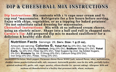 Peppercorn Parmesan Dip & Cheeseball Mix