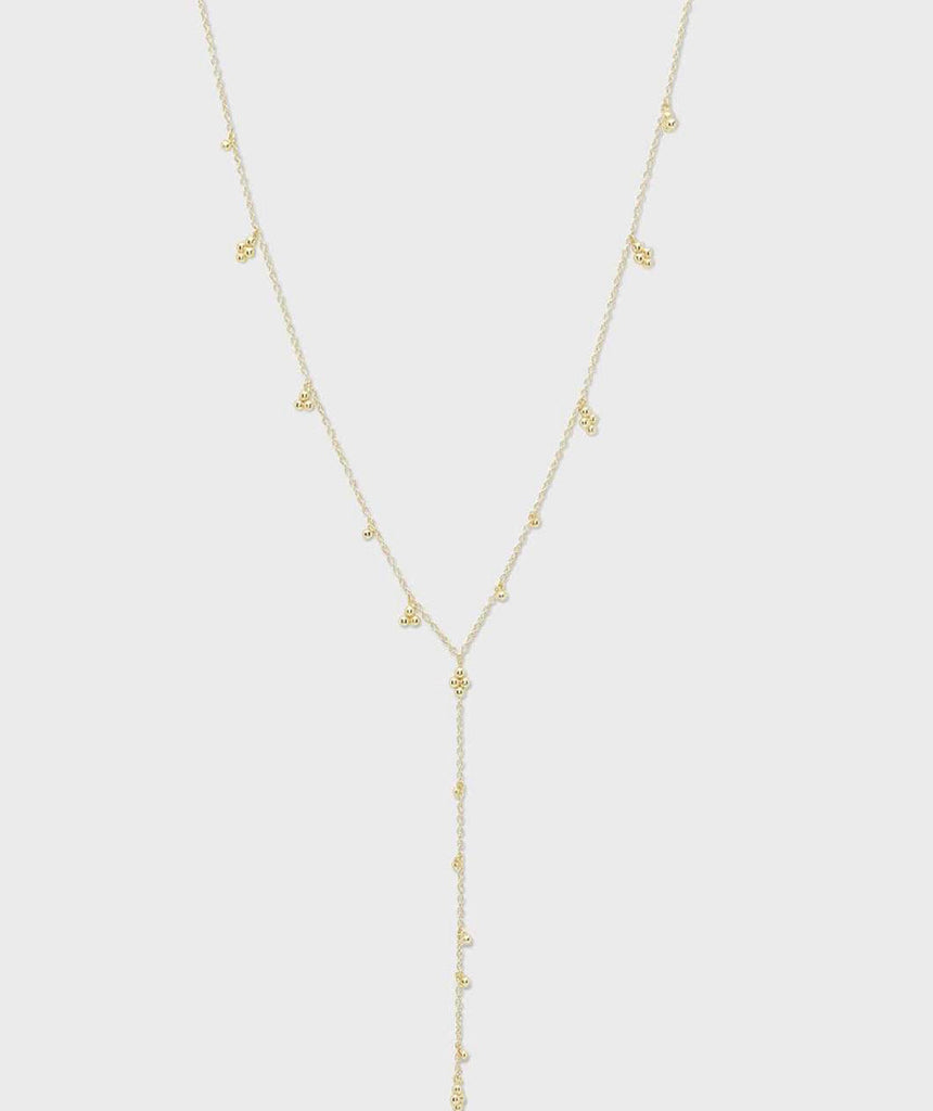 Gorjana Costa Lariat Necklace