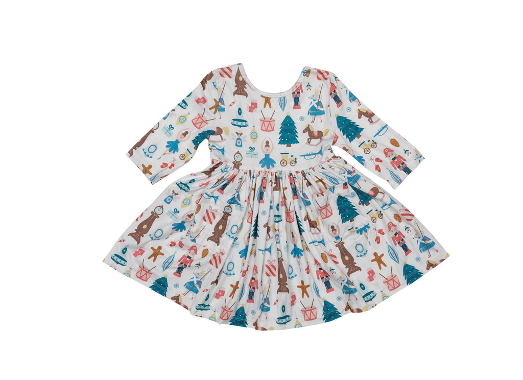 Mila & Rose Nutcracker Pocket Twirl Dress