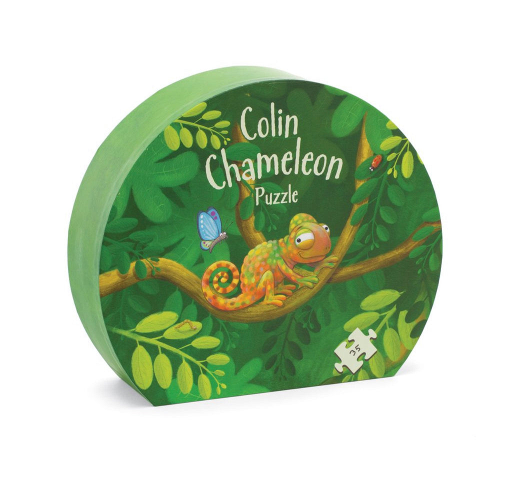 Jellycat Colin Chameleon Puzzle