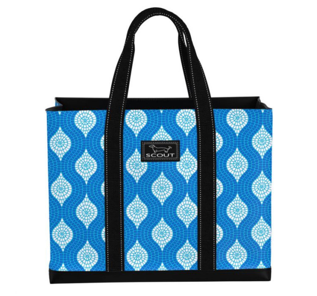 "Scout Bags ""Sweet Tile of Mine"" Original Deano Tote Bag"