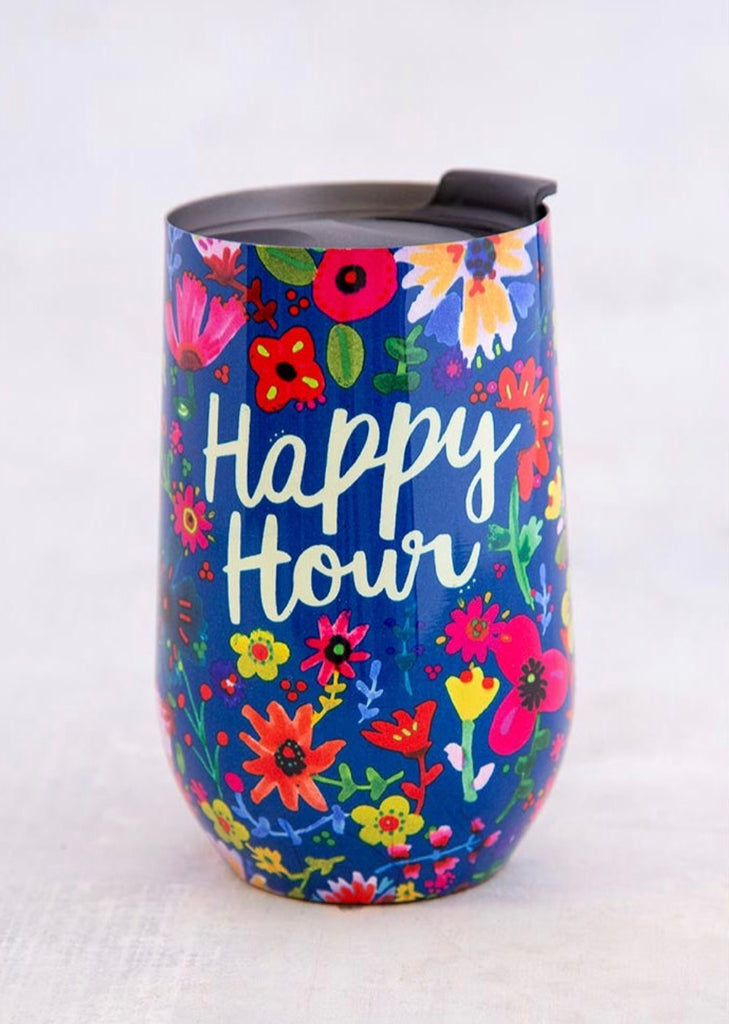 Natural Life Happy Hour Wine Tumbler