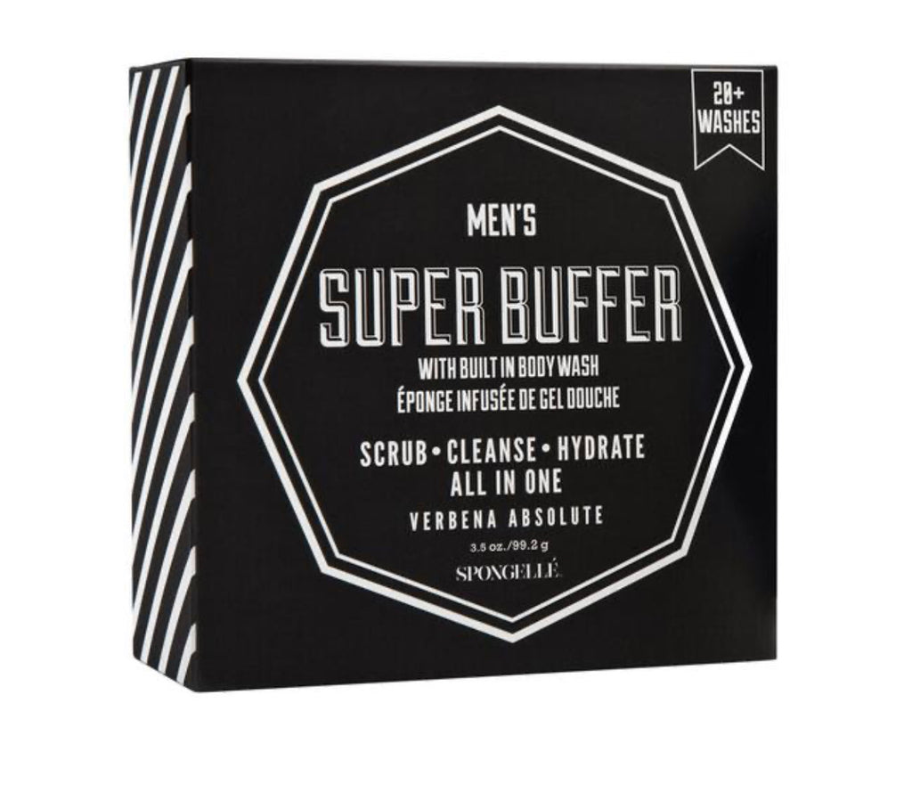 Men's Spongelle Super Buffer -Black 28+