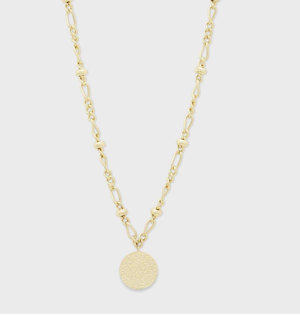 Gorjana Banks Coin Necklace
