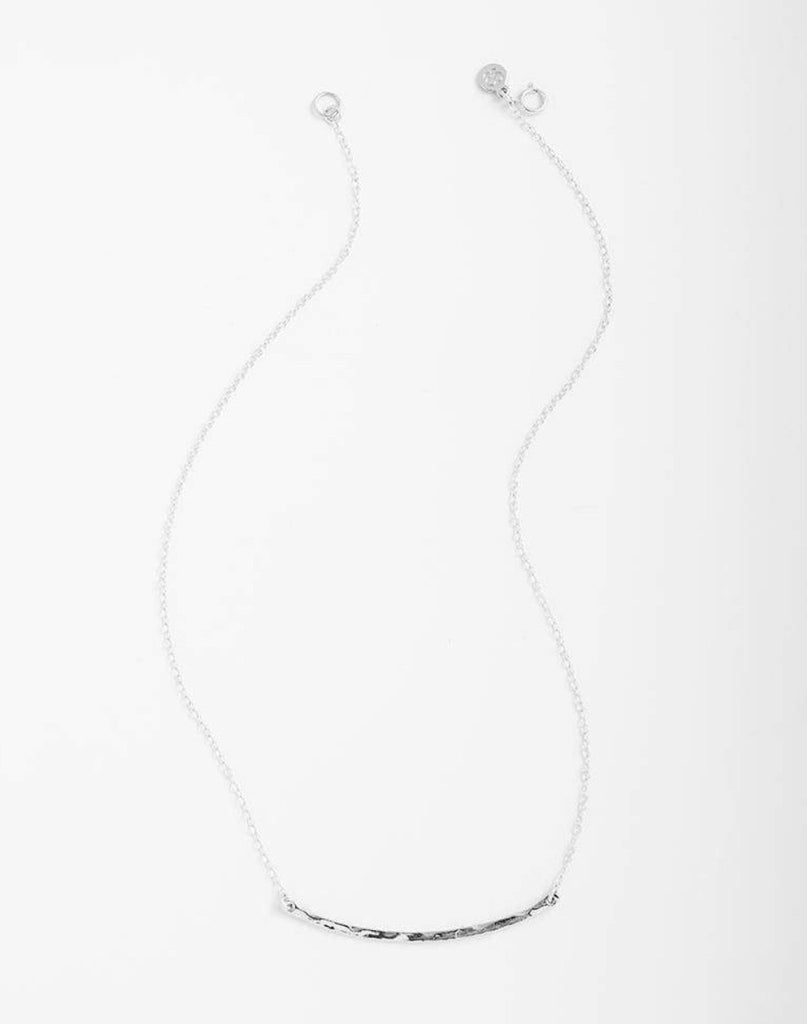 Gorjana Taner Bar Small Necklace-Silver