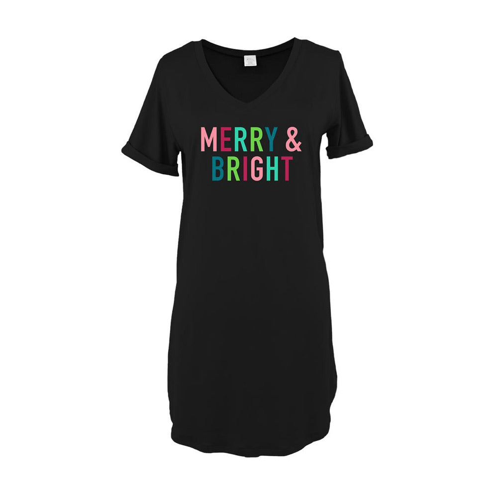 Hello Mello Merry and Bright Sleep Shirt