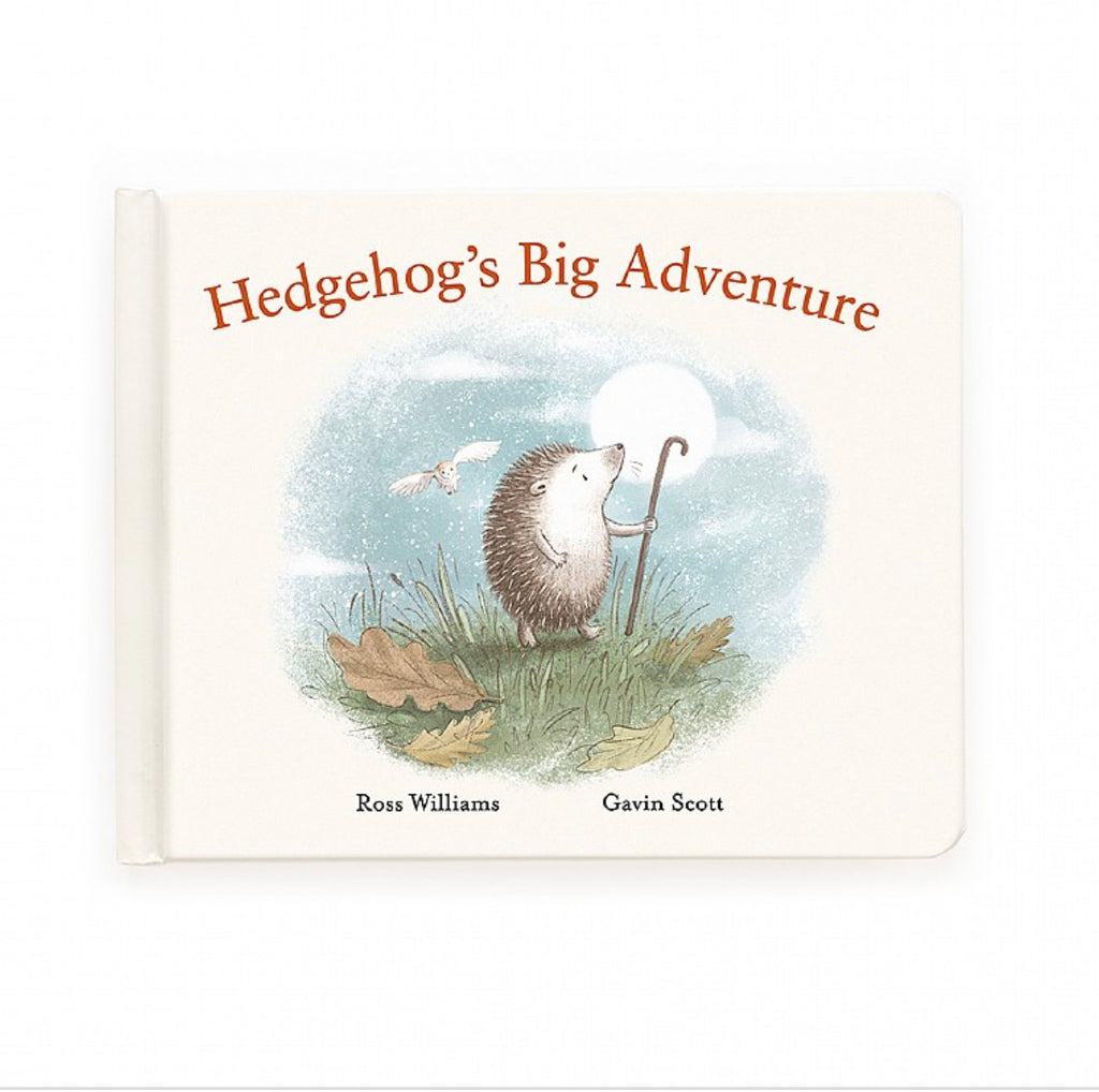 "Jellycat ""Hedgehog's Big Adventure"" Book"