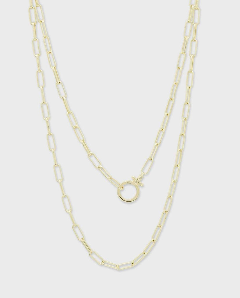 Gorjana Parker Wrap Necklace- Gold