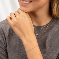 Gorjana Super Star Bracelet, Gold