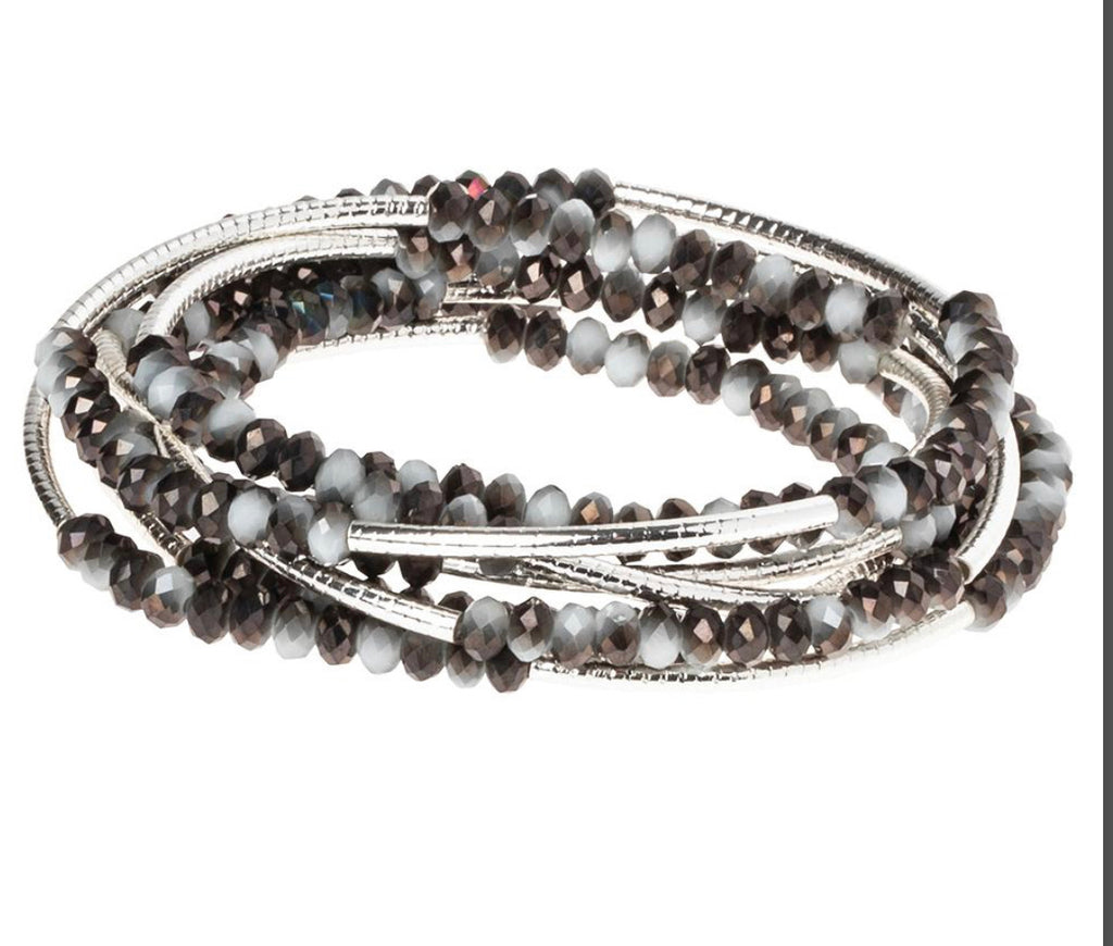 Scout Curated Wrap Eclipse/Silver