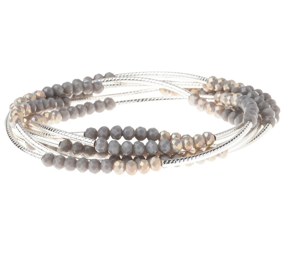 Scout Curated Wrap Dove Gray Multi/Silver