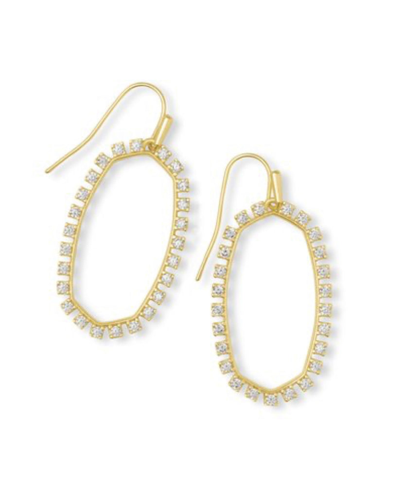 Kendra Scott Elle Open Frame Earring - Available in 3 Colors