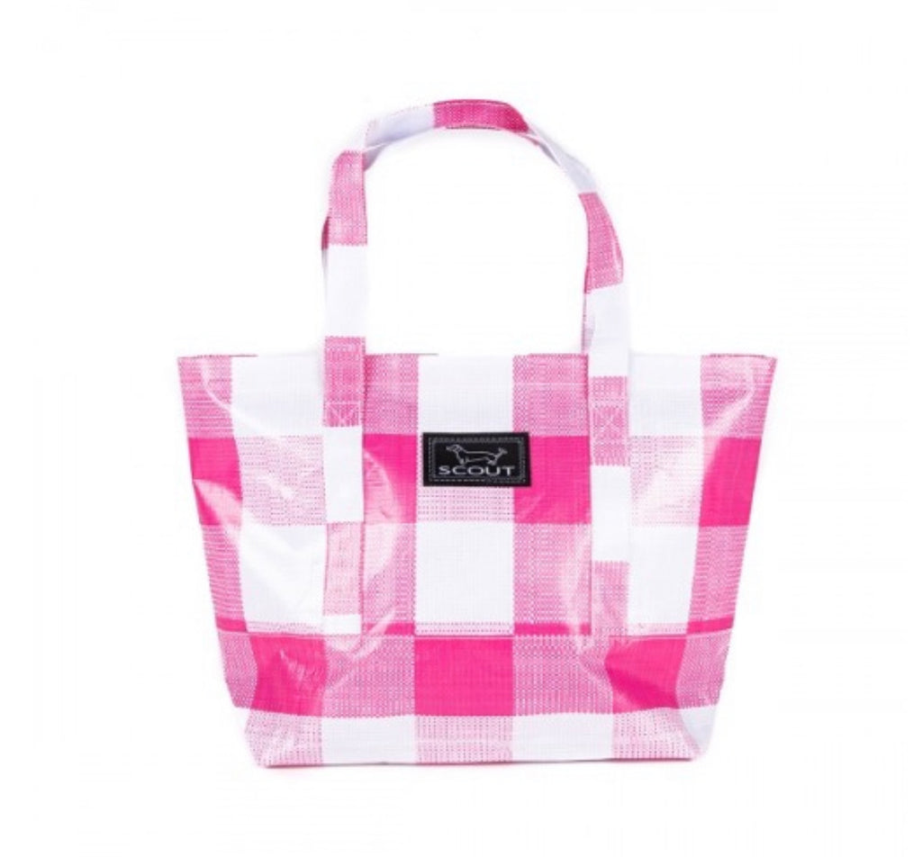 "Scout Bags ""Pink Check"" Toteworthy Shoulder Bag"