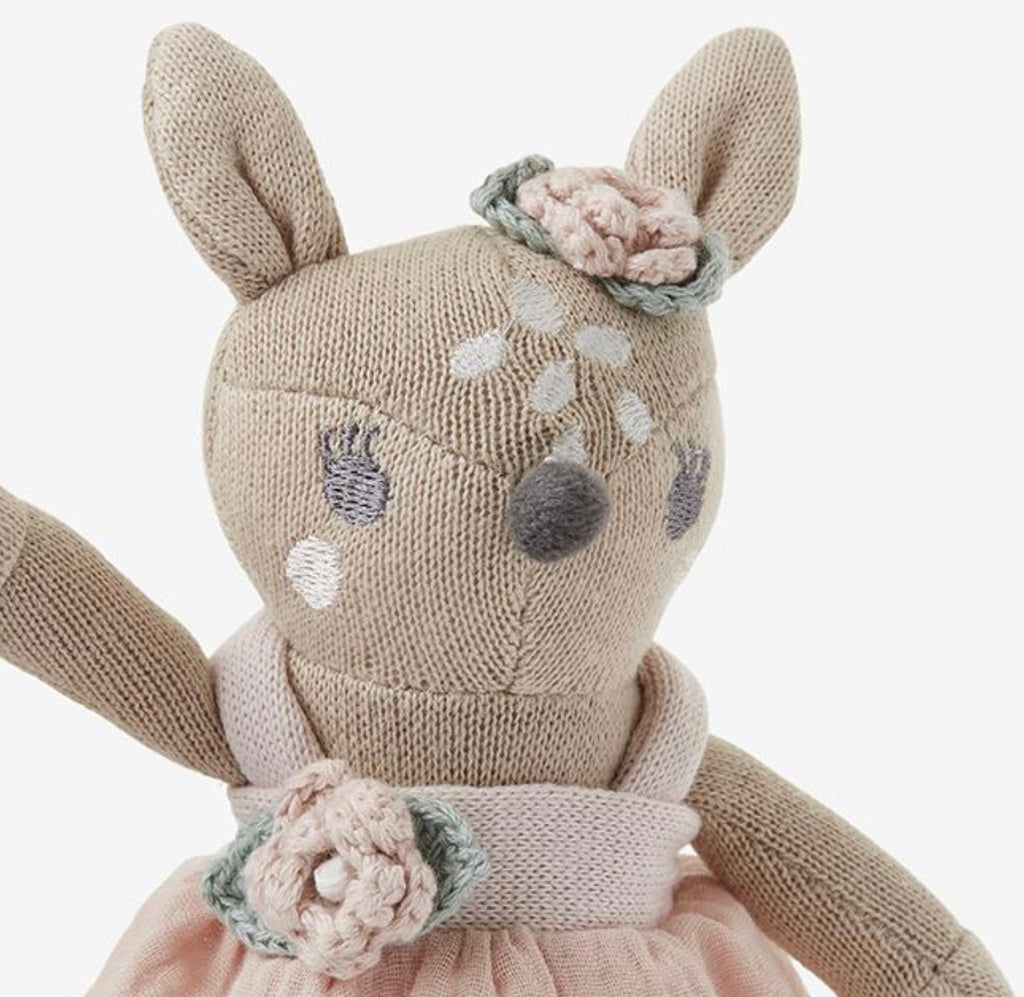 Elegant Baby 8'' Mini Fifi Fawn Baby Knit Toy
