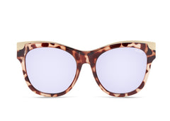 Quay Australia It's My Way in Gold Tortoise/Blue Lenses