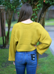 BB Talk Cropped Sweater
