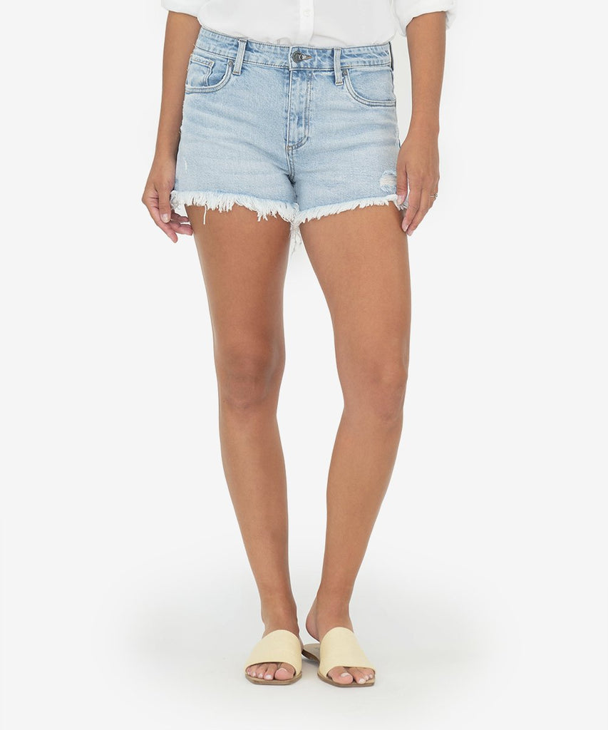"Kut from the Kloth ""Jane"" High Rise Short - Adrenaline Wash"