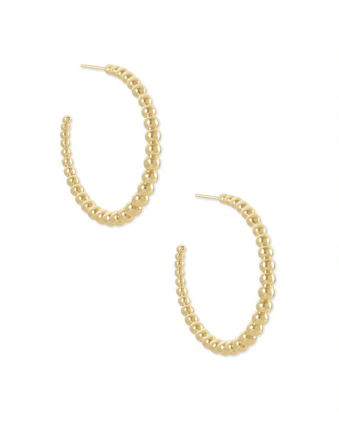 Kendra Scott Josie Hoops in Gold