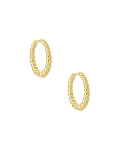 Kendra Scott Josie Huggies in Gold