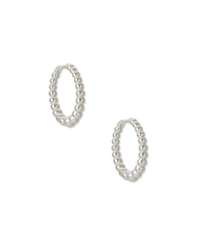 Kendra Scott Josie Huggies in Silver