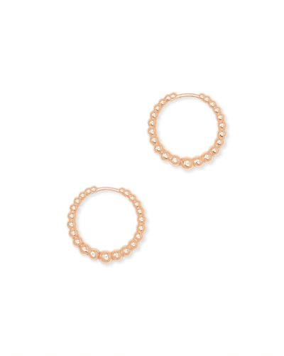 Kendra Scott Josie Huggies in Vintage Gold