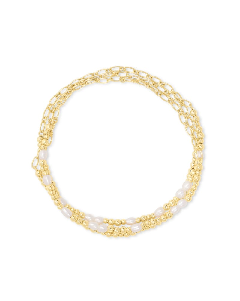 Kendra Scott Mollie Stretch Bracelet (Set of 3) - Available in 2 Colors
