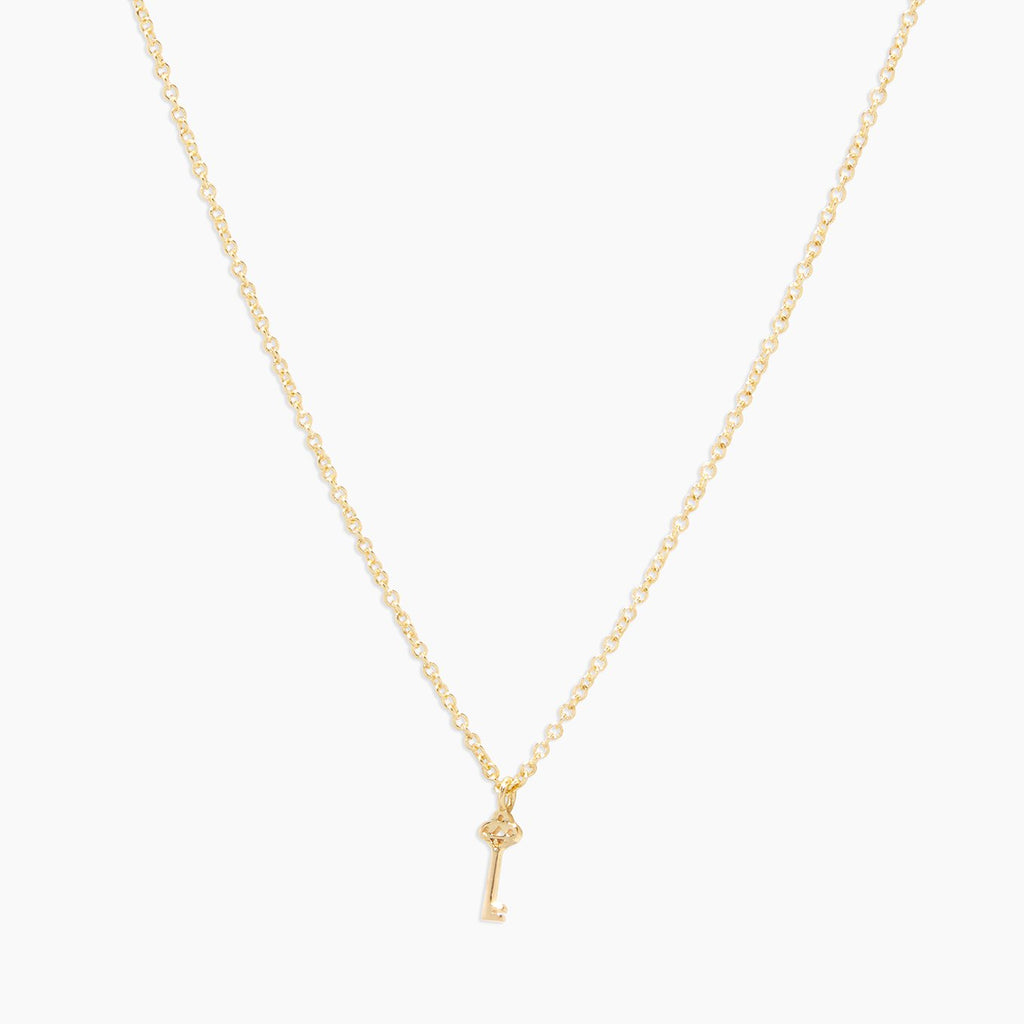 Gorjana Key Charm Necklace