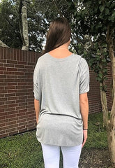 Grey Oversized Tunic