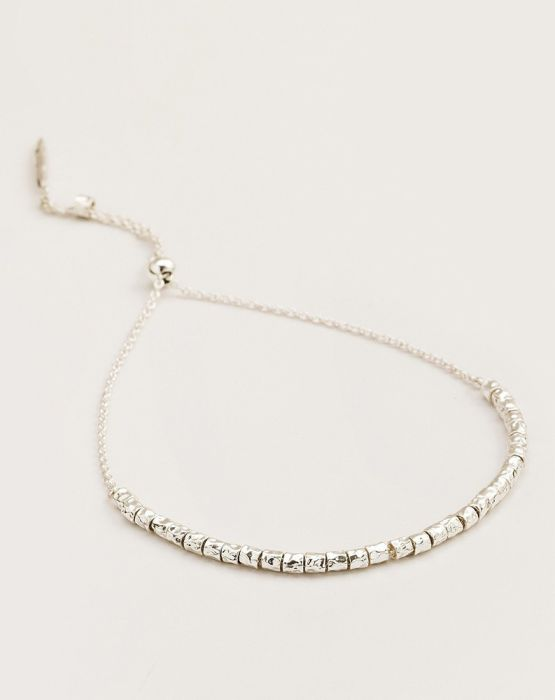 Gorjana Laguna Adjustable Bracelet in Silver