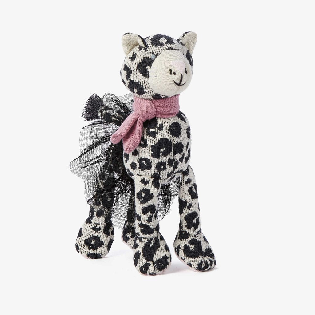 Leopard Baby Knit Toy
