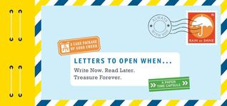Letters to Open When...Book