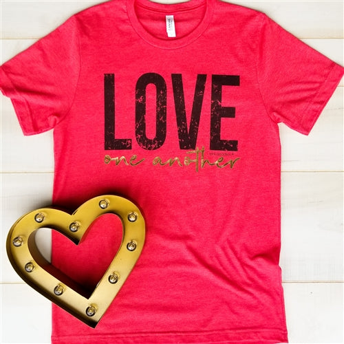 Love One Another Boyfriend Graphic Tee