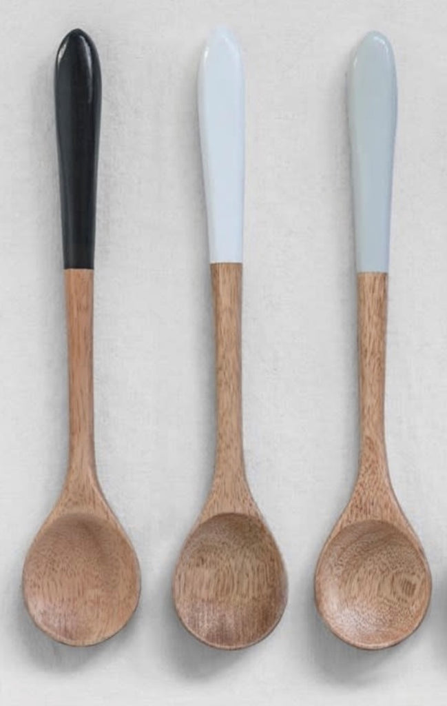 Mango Wooden Spoons - 3 Colors Available